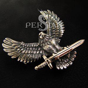Подвес «Верный Орёл» серебряный