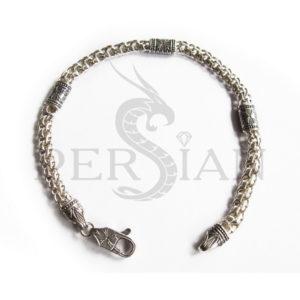 Браслет «Арабский Бисмарк» с серебряными вставками