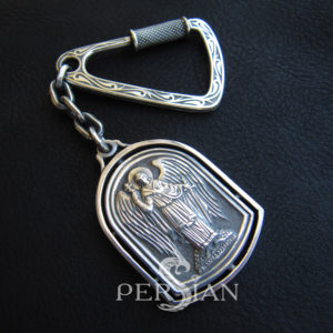 Брелок серебряный «Ангел Хранитель»