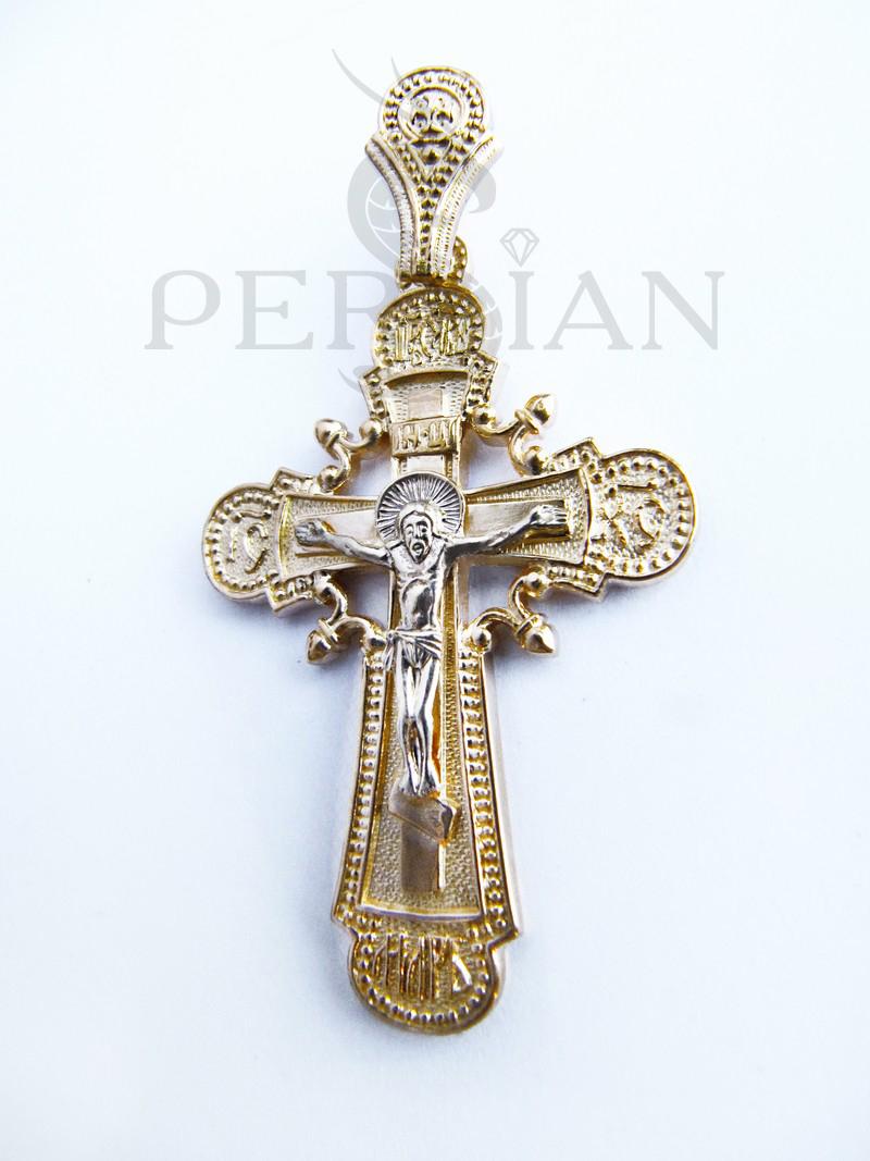 Православный крест из золота