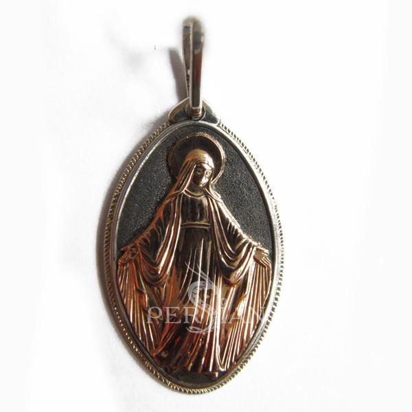 Серебряная подвеска «Покрова»