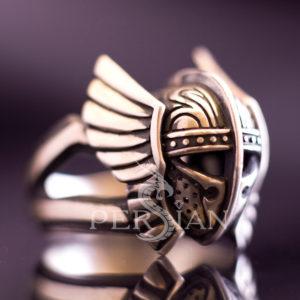 Серебряный перстень «Последний Гладиатор»